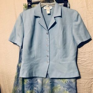 Skirt Suit by Miss Dorby size 8P